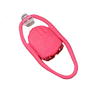 AKSLEN Water Spider 2LED White Light Waterproof Pink Cycling Safe Warning Light