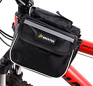 Bike Frame Bag / Cycle Bag Waterproof / Wearable / Phone/Iphone Cycling/Bike 600D Polyester Black