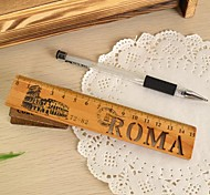 Vintage Hollow-out Wooden Ruler(Roma)