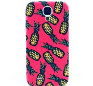Pink Pineapple Pattern Hard Case Cover for Samsung Galaxy S4 I9500