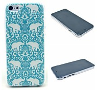 caso duro tappeto elefante modello di iPhone 6 Plus
