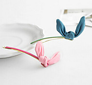 Super Cute Rabbit Ears Hairpin Korean Chiffon Random Delivery