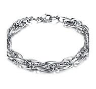 Z&X®  Men's Fashion Simple Titanium Steel Bracelet