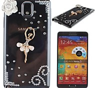 fille ballet fond transparent pour Samsung Galaxy Note 3