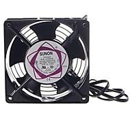 Multifunction Stainless Steel Shelled Fan for Electronics DIY (220~240V)