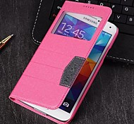 Falachi Elegant  Window Protection Shell Mobile Phone Case Cover for Galaxy SV S5 i9600