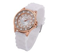 Women's Fashion Classic Silicone Bracelet Watch(assorted colors)
