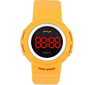 ABS Multifuction Waterproof Leisure Sport LED Wrist Watch