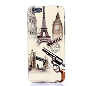 Attractive Gun Pattern Silicone Soft Cover for iPhone 6