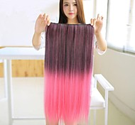 Colorful Long Straight Hair Extensions