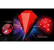 fjqxz 8 llevó 2 diamante láser rojo de la luz trasera láser forma con la batería (2 * aa)