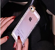 Elegant Decorated with Diamond Frame for iPhone 6