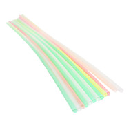 80cm Multcolor Plactis Party Straws (25/Package)