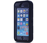 Ultra Shockproof Drop-proof Amy-grade Protective Hard Defender Silicone Case for iPhone 5S/5C/5 (Assorted Color)
