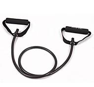 Black Tube Elastic String Sliming Fitness Yoga Resistance Bands Fitness