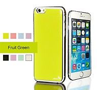 AIKUSU® Newest 8 Solid Colors Pattern Epoxy Gel Cover for iPhone 6 Case 4.7 inch(Assorted Colors)