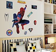 Doudouwo® Wall Stickers Wall Decals, People the Universal Man PVC Wall Sticker