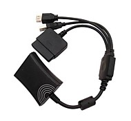 PS2 to Xbox 360 Sony PS3 Controller Converter Cable Cord for Sony PS3 Microsoft Xbox 360