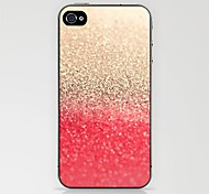 Gold to Red Pattern Case for iPhone 4/4S