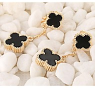Love Is Your Fashion Exquisite Clovers Long Earrings