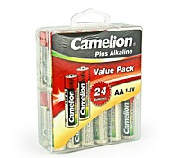 Camelion Plus Alkaline AA Battery in Container Box of 24 PCS