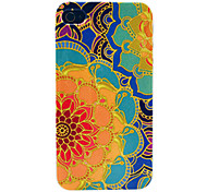 Retro Sunflower Pattern Hard Case for iPhone 4/4S