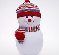 Рождественские украшения текстиля шарф снеговик (высота = 24см)