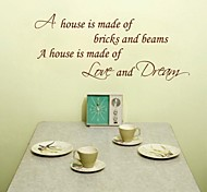 JiuBai™  Home Quote Wall Sticker Wall Decal