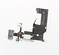 Dock Connector Charger Charging Port and Microphone Headphone Jack Flex Cable Ribbon Repair Parts for iPhone 5