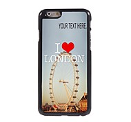 Personalized Case London Design Metal Case for iPhone 6 Plus