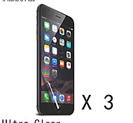 High Quality Clear Screen Protector for iPhone 6S Plus/6 Plus (3 pcs)