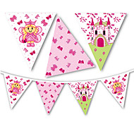Lovely Princess Flag Banner Party Accessory