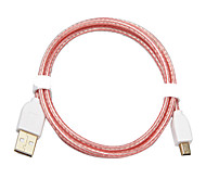 CYK 1M 3.28FT USB2.0 Male to USB2.0 Micro Male USB Cable Free Shipping
