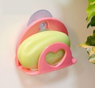 Creative Multi-functional Heart Shape Suction Cup Hook(Random Color)