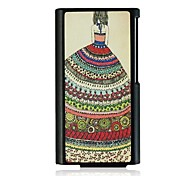 Flower Skirt Girl Leather Vein Pattern Hard Case for iPod Nano7