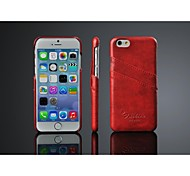 Fashion® Ultra Thin Oil Wax Pu Leather Case for iPhone 6 (Assorted Colors)