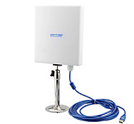 pintop g85 de alta potência usb receptor aumento do sinal placa de rede wireless chip de 8187l wlan wi-fi