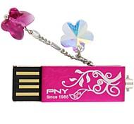 PNY Attaché preciosa flor usb 16gb cristal swarovski unidad flash