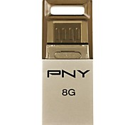 PNY OTG Duo- Link OU2 8GB USB Flash Drive