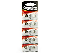 Camelion 1.5V AG7 Alkaline Button Battery (10pcs)