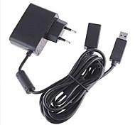 EU AC Power Supply Cable Cord Adapter for Microsoft Xbox 360 Kinect Sensor Camera