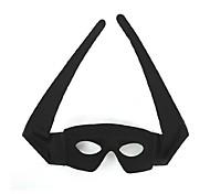 eyeshield PVC preto máscara de halloween festa olho