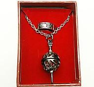 Puella Magi Madoka Magica Madoka Kaname Cosplay Accessories(Ring & Necklace)