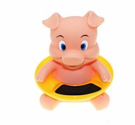 estilo lindo cerdo termómetro de agua bañera baño del bebé