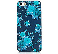 Black Roses Pattern Black Frame Back Case for iPhone 5/5S