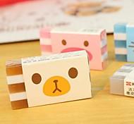 Animal Pattern Eraser(Random Color 1PCS)