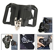 "New 1/4"" Camera Waist Holster Quick Hunter Shoot Belt Button Fast Load Loading - Black"