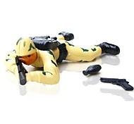 Battle Fire Action Soldier Wind-Up Toys (Random Color)