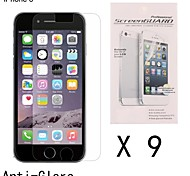Anti-Fingerprint Highest Quality Premium High Definition Screen Protector for iPhone 6 (9 pcs)