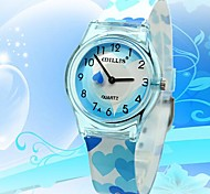 WILLIS® Blue Heart Analog Quartz Wrist Watch